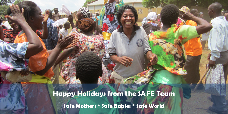 SAFE Holiday Email Fundraiser